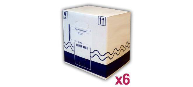 Agua_Purificada_Palet_6_Envase_Carton_BagInBox_20L
