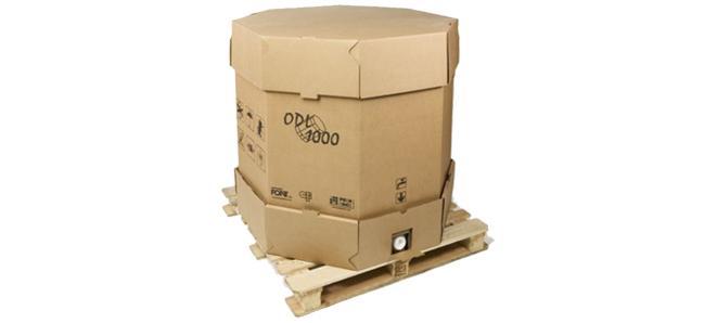Contenedor ODL cartón agua destilada desionizada osmotizada adesco