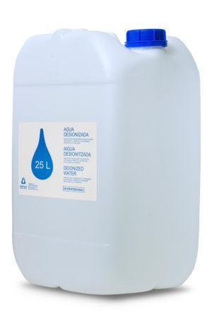 Eau Désionisée (Distillée) dans un Fût de 25 litres